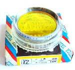 46mm Yashica Y2 (Yellow) Camera Lens Filter