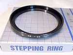49mm- 55mm Step Up Ring
