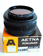 52mm Aetna Color-Change Red-Yellow Camera Lens Filter