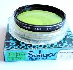 52mm Soligor X-1 (Green) Camera Lens Filter