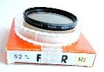 52mm Telesor ND2 (Neutral Density x2) Camera Lens Filter