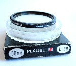 58mm Plaubel L-39 Camera Lens Filter