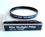 62mm Prinz Skylight Camera Lens Filter