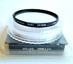 62mm Vivitar UV Haze Camera Lens Filter