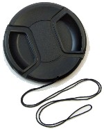 Center Pinch Lens Cap for Nikon AF DC-NIKKOR 135mm f/2D Camera Lens with String Leash Strap – Replacement
