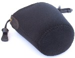 "OP/TECH Snoot Boot Lens Pouch Case mini size 3""x4"" for Wide Angle or Macro Lenses"
