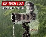 OP/TECH RAINSLEEVE FLASH Rain Cover for all 35mm SLR Film Cameras and all D-SLR Digital Cameras