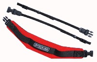 OP/TECH PRO Strap Weight Reducing Camera Strap Red (1502012)