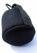 "Lens Case Pouch for Wide Angle or Macro Lenses 4"" x 4 1/2"" made of Neoprene"