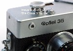 Soft Button Shutter Release for all Models of the Rollei 35 Rangefinder Cameras