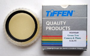 49mm Tiffen Center Spot Filter